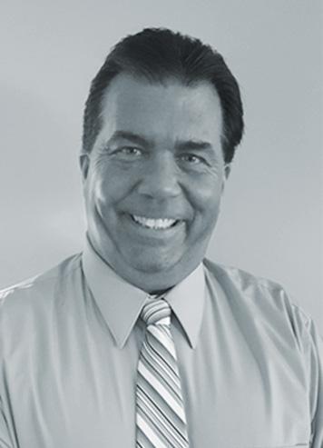Black and White Headshot of Senior VP of Operations of Maine Lee Technology, Bill Kimball