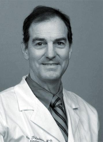 Black and White Headshot of Foubnder of Maine Lee Technology, Dr. Lee Thibodeau