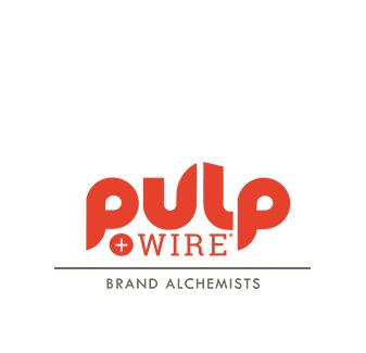 Red Pulp+Wire - Brand Alchemists Logo
